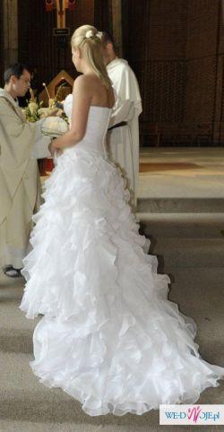 Sprzedam suknię ślubną model Capricho firmy San Patrick