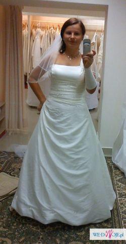Sprzedam suknię ślubną model DIAMANTE kolor ivoire, rozm.38/40