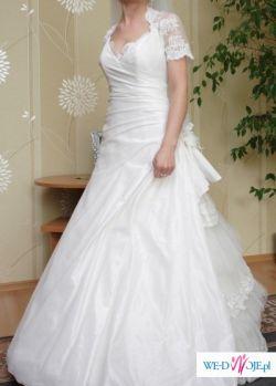 Sprzedam suknię ślubną model Lorenzo kolekcja ANGEL 2009+welon i bolerko gratis