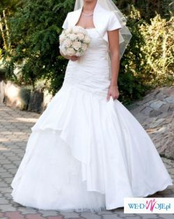 sprzedam suknię ślubną MS moda model Celina, rozmiar 36-38