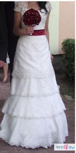 Sprzedam Suknie Ślubną - Nietypowa !!!! Kolekcja 2011
