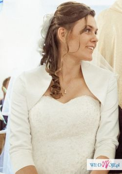 Sprzedam suknię ślubną Paloma II, BOLERKO I DWA WELONY GRATIS,