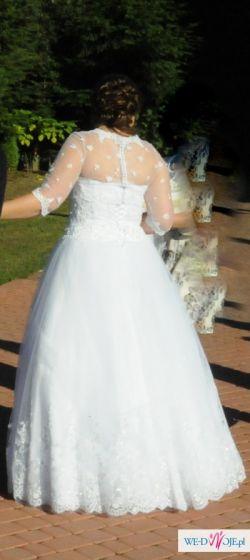 Sprzedam suknię ślubną princessa + gratisy