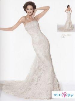 sprzedam suknię ślubną Pronovais model India (zakupiona w salonie)