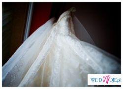 Sprzedam Suknię Ślubną PRONOVIAS 2008 – DELFIN – 36/38