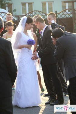 sprzedam suknię ślubną PRONOVIAS abaco  rozm. 34-36
