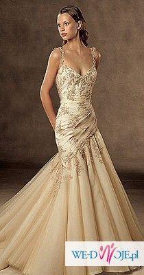 sprzedam suknię ślubną pronovias badil