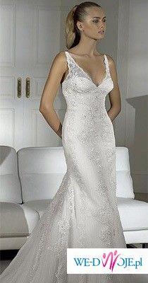 Sprzedam suknie ślubną Pronovias Huella z kolekcji 2009