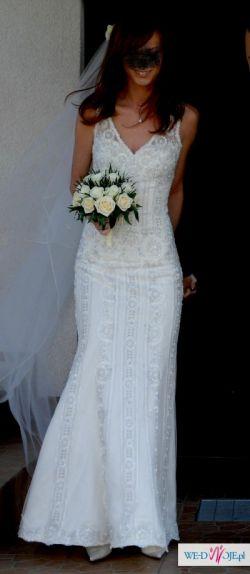Sprzedam suknię ślubną Pronovias Lorca