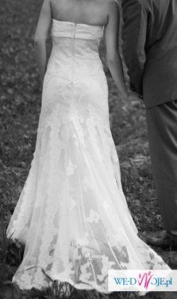 sprzedam suknię ślubną PRONOVIAS LORNA 34/36 ECRU