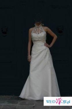 Sprzedam suknię ślubną Pronovias Okawa z bolerkiem