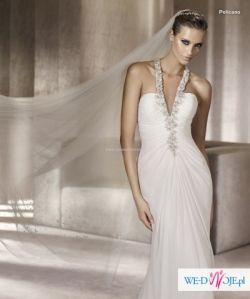 Sprzedam suknie slubna PRONOVIAS PELICANO!!! R. 34