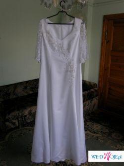 Sprzedam suknię ślubną prostą i skromną