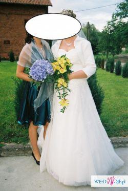 Sprzedam suknię ślubną r42.
