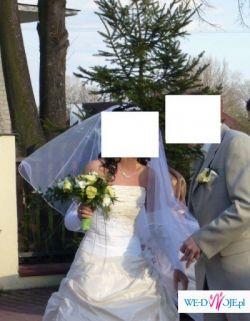 Sprzedam suknie ślubną renomowanęj firmy Agnes