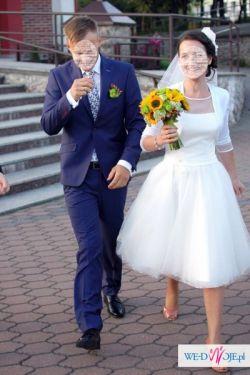 Sprzedam suknię ślubną retro marki AGNES rozm. 36