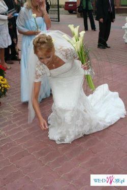sprzedam suknię ślubną Rondalla San Patrick