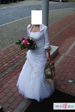 Sprzedam suknię ślubną roz. 36/38