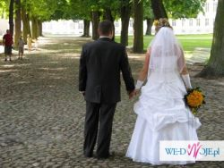 Sprzedam suknię ślubną roz. 42/44; 600zł do uzgodnienia Poznań.