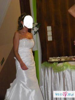 Sprzedam suknię ślubną rozm. 34-36