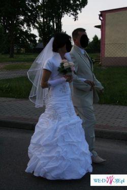 sprzedam suknię ślubną rozm. 34 + dodatki
