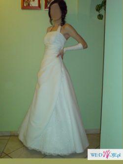 Sprzedam suknię ślubną rozm. 34 - TANIO!!