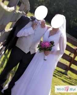 Sprzedam suknię ślubną rozm. 36