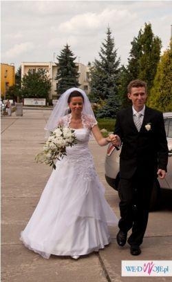 Sprzedam suknię ślubną rozm. 38
