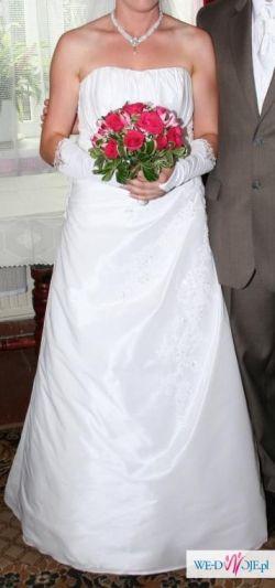 Sprzedam suknię ślubną rozm. 38-40