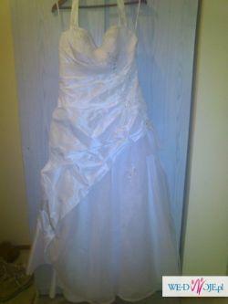 Sprzedam suknię ślubną rozm.44-48