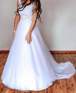 Sprzedam suknie ślubną! Rozmiar 34