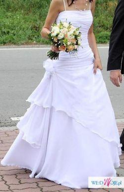 Sprzedam suknię ślubną, rozmiar 36