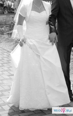 Sprzedam suknię ślubną, rozmiar: 36/38, cena: 900zł