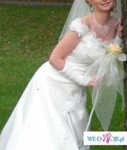 Sprzedam suknię ślubną-rozmiar 36.