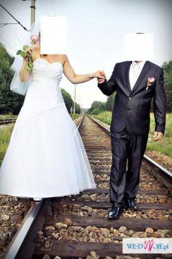 Sprzedam Suknie Ślubną rozmiar 38-40