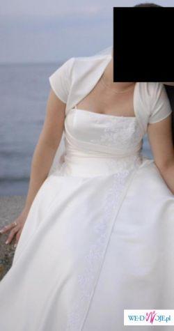 Sprzedam suknię ślubną  - rozmiar 38/40  Gdynia