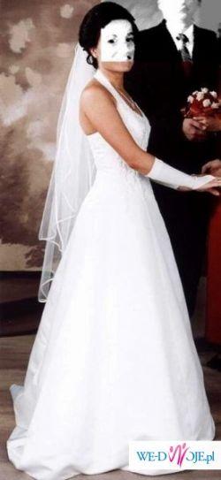 Sprzedam suknię ślubną - rozmiar 38.