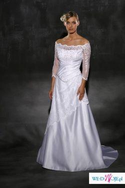 Sprzedam suknie ślubną rozmiar 40, kolor biały