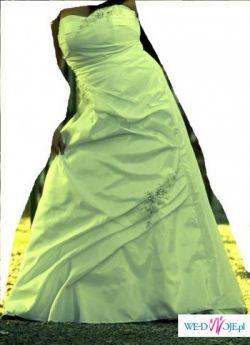 sprzedam suknię ślubną rozmiar 44-46