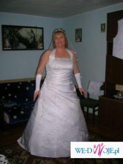 Sprzedam suknię ślubną  rozmiar 46
