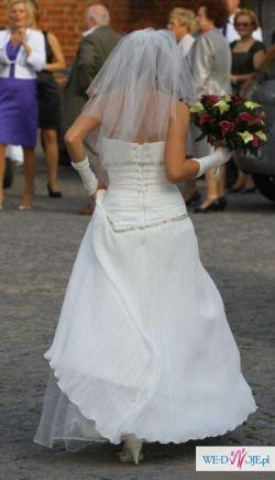 Sprzedam suknie ślubna rozmiar XS