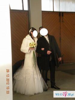 Sprzedam suknie ślubną Rybka rozm 38