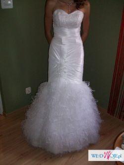 Sprzedam suknię ślubną rybkę