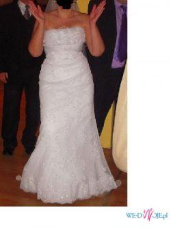 sprzedam suknię ślubną San Patric - EMBLEMA - kolekcja 2010