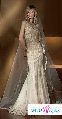 sprzedam suknię ślubną San Patrick Bagdad