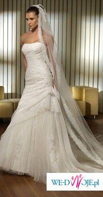 Sprzedam suknię ślubną San Patrick - PERALTA rozmiar 38
