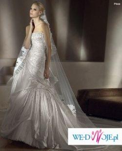 """sprzedam suknie ślubna san patrick """"pissa"""" z kolekcji 2009 w rozmiarze 36-38"""