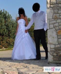 Sprzedam suknie ślubną SARAH GOLD 2007