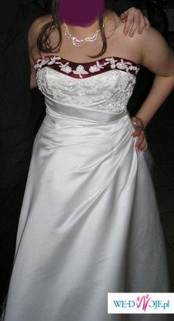 Sprzedam suknię ślubną SINCERITY 3331 rozm. 42/44