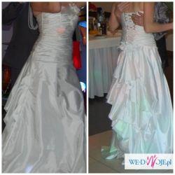 sprzedam suknię ślubną śnieżnobiałą